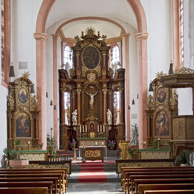 Hunsrückdom Ravengiersburg Altar